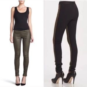 Theory Lamb Leather Leggings